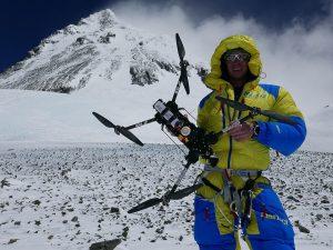 Drohnenflug am Everest, Weltrekord