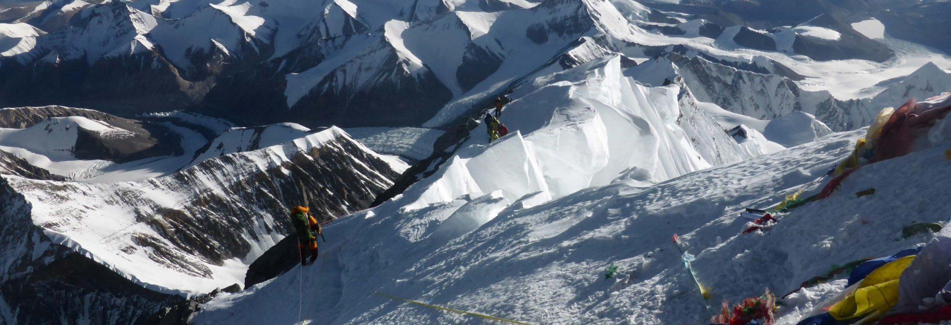 Blick vom Gipfel, Everest